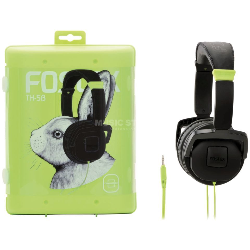 Fostex TH-5 Stereo Headphones, Black    Produktbillede