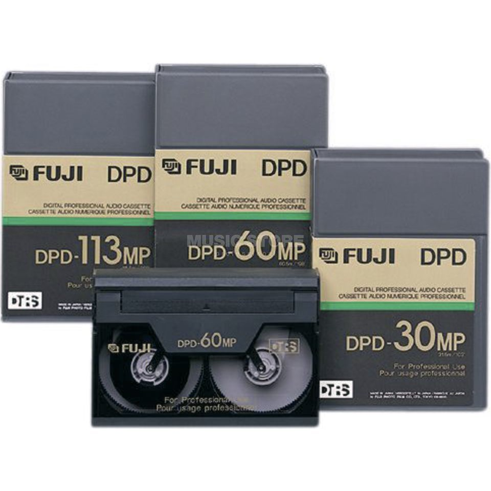 Fuji Gakki DPD 113MP Single Unit Digital Audio Tape, DTRS Produktbillede