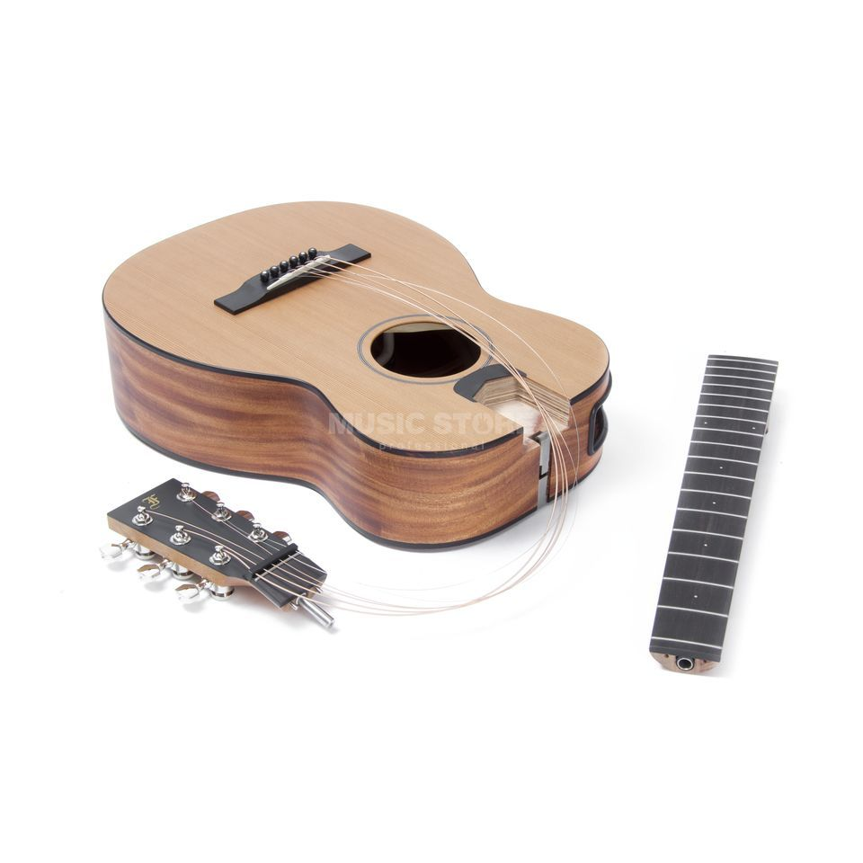 Furch Furch LJ-10 Little Jane - Travel Guitar with Bag Produktbillede