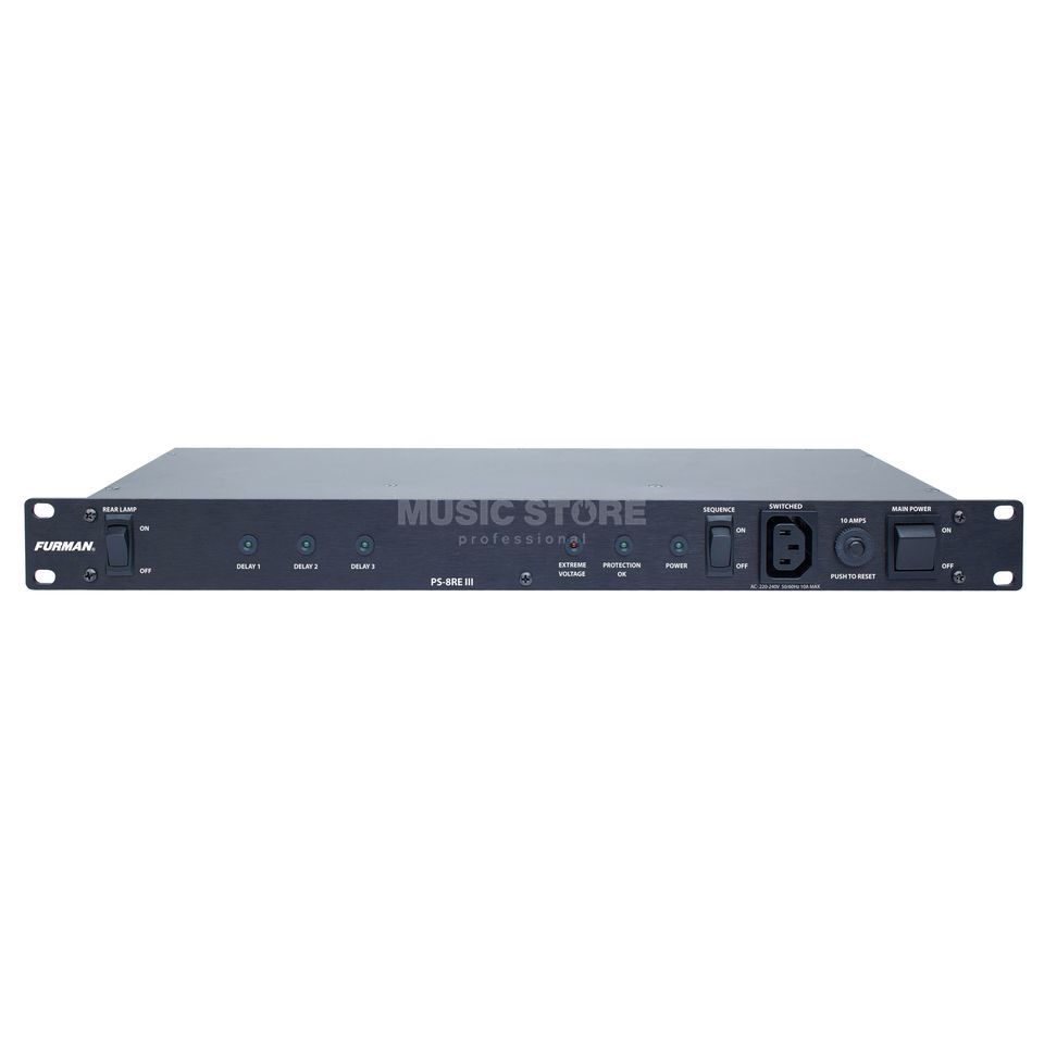 Furman PS-8R E III Power Conditioner Produktbillede