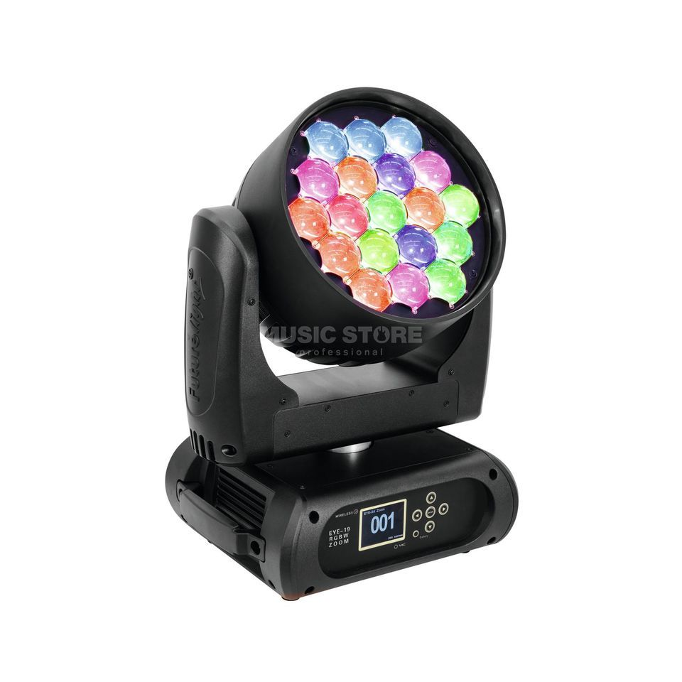 Futurelight EYE 19 Moving Head Wash 19x 15W RGBW LED Produktbild
