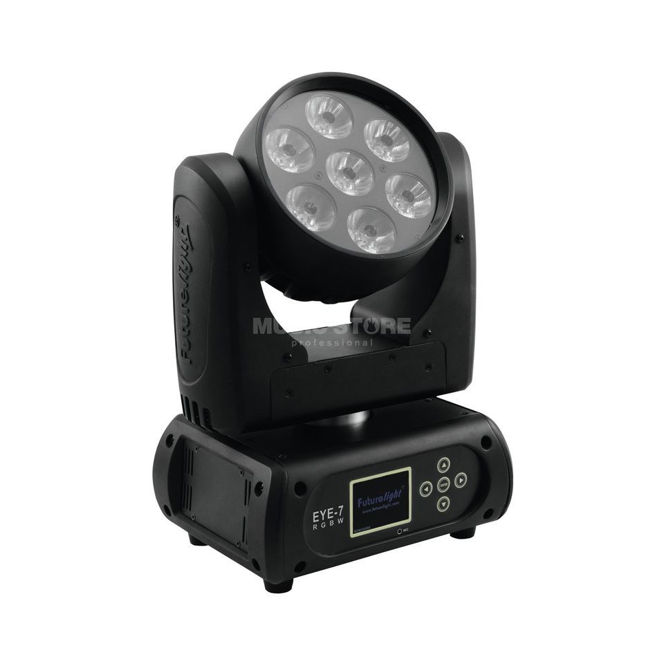 Futurelight EYE-7 RGBW Moving Head Beam 7x 10-W-QCL-RGBW-LEDs Produktbild