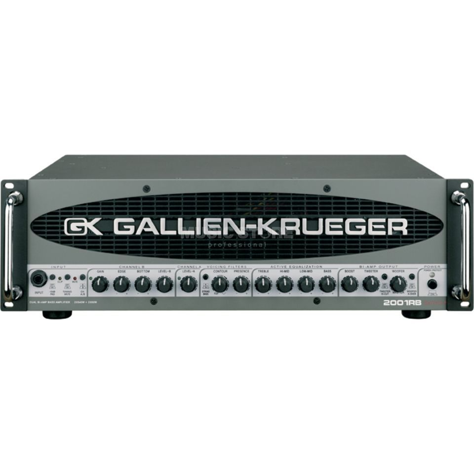 Gallien Krueger 2001 RB Top  Product Image
