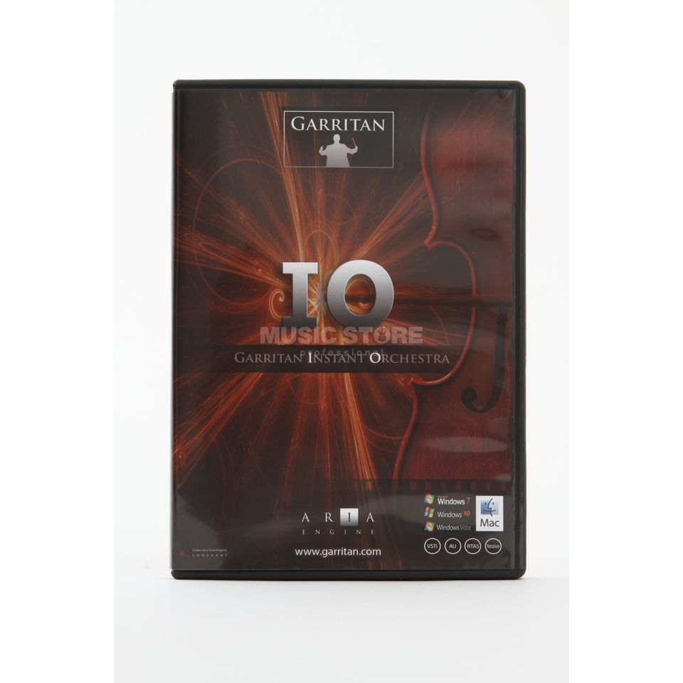 Gary Garritan Instant Orchestra Virtual Instrument Software Product Image