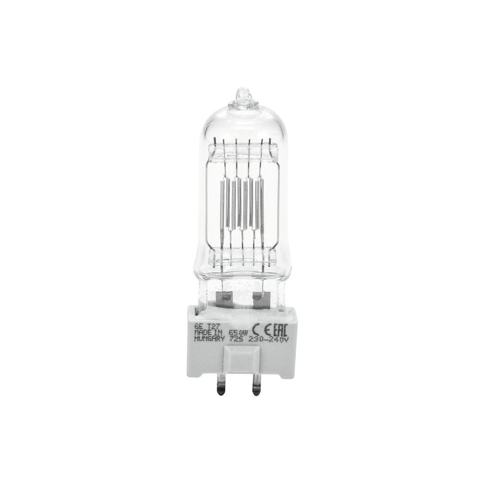 GE Lighting Bulb GY 9.5 650W/240V T26  Produktbillede
