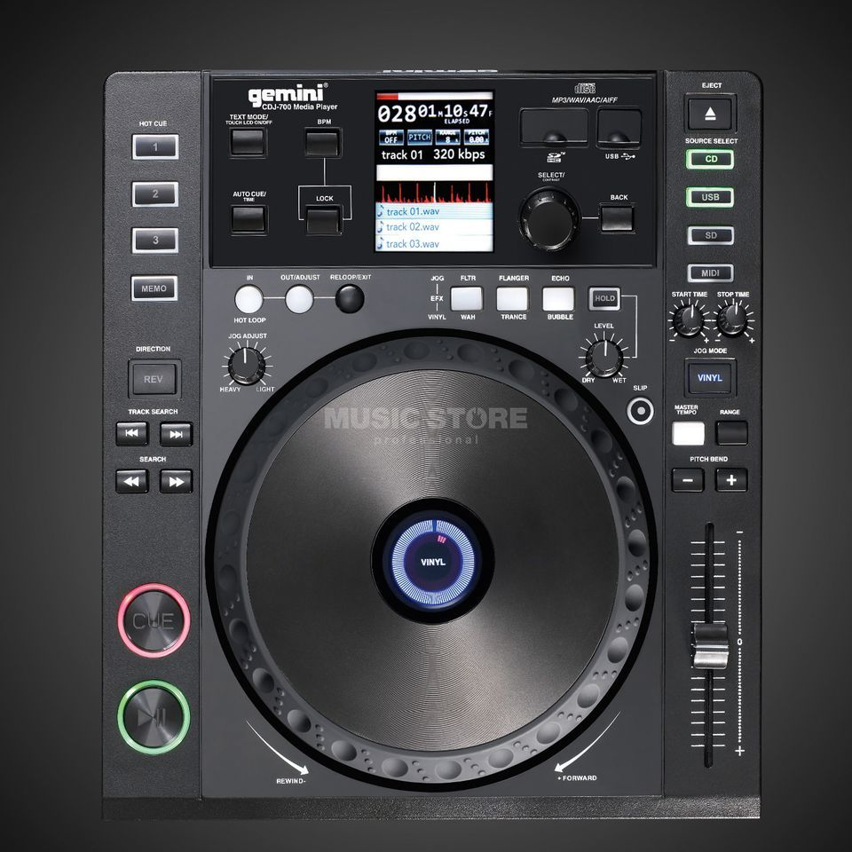 Gemini CDJ-700 Professional Multi Player Product Image