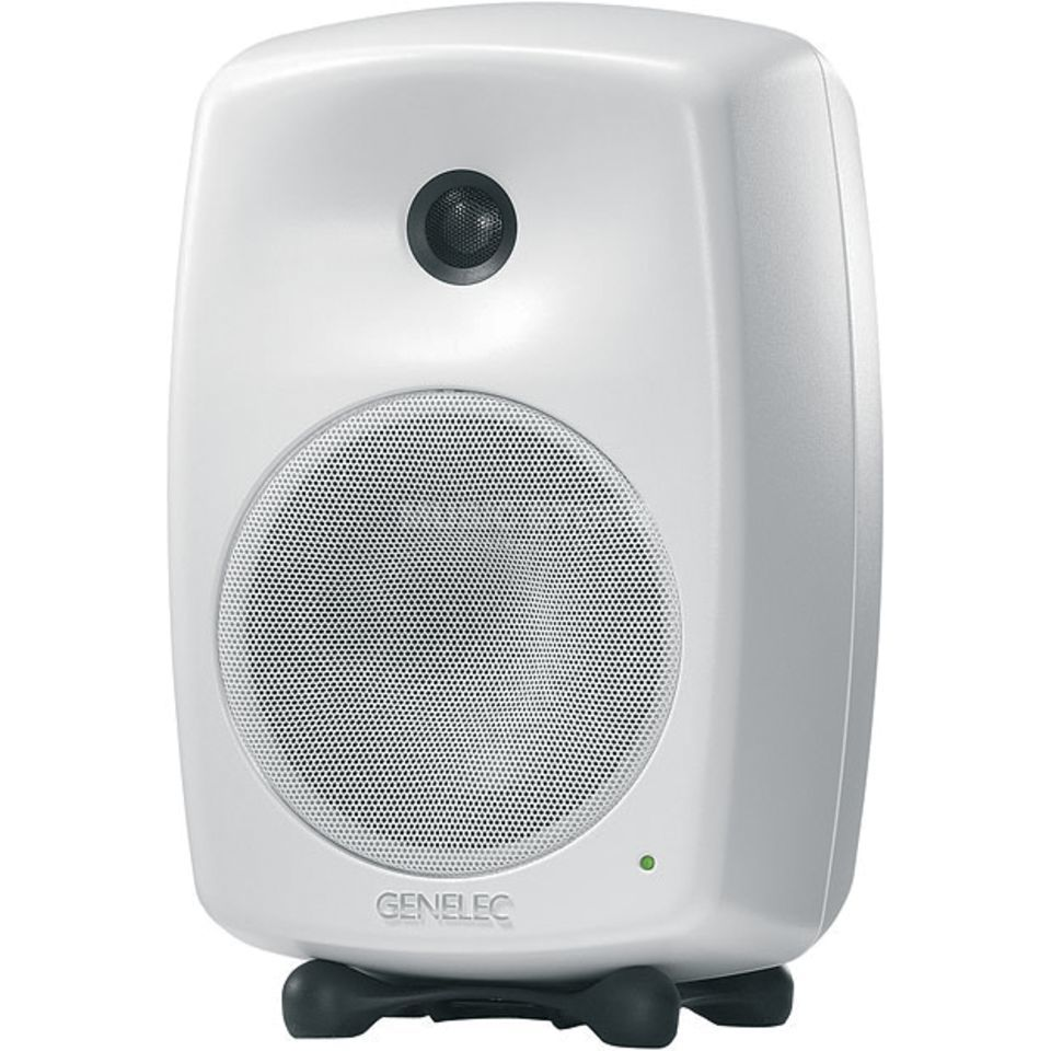 Genelec 8040 AWM Studiomonitor active, white Produktbillede