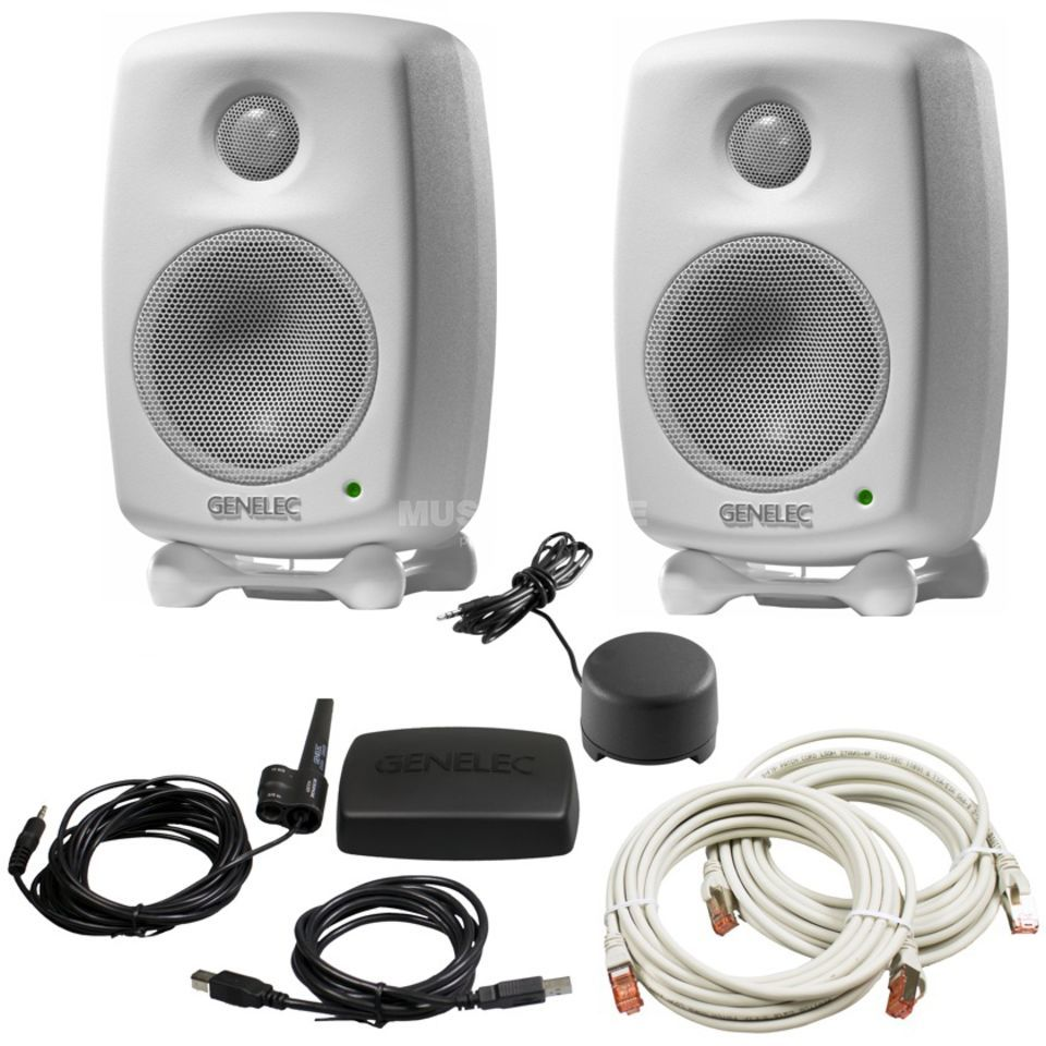 Genelec 8320AWM-Pack DSP-Studio Monitor Pack, white Produktbillede