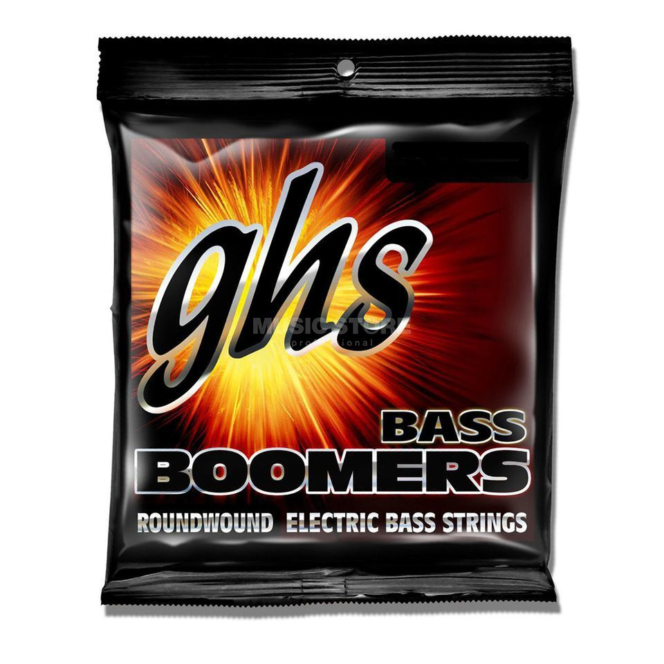 GHS 4 String Bass Boomers 45-100 Medium Scale 45-65-80-100 Produktbillede