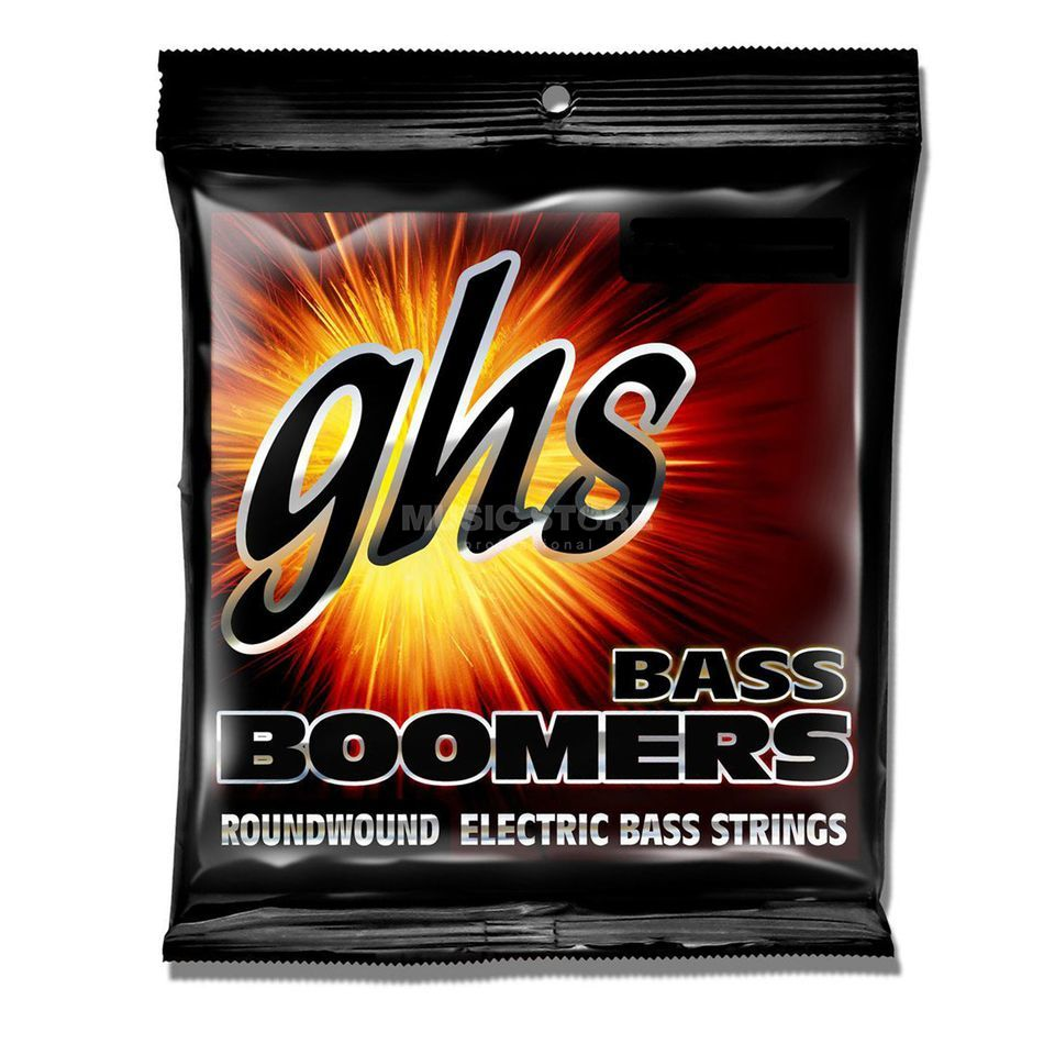 GHS 4 String Bass Boomers 45-95 Short Scale 45-60-75-95 Изображение товара