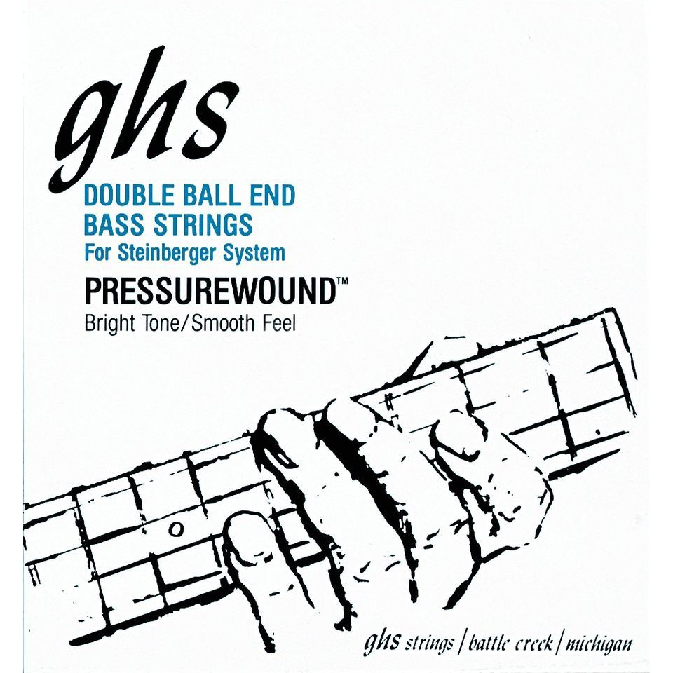 GHS 4 String Bass Double Ball 40-102 40-58-80-102 Изображение товара