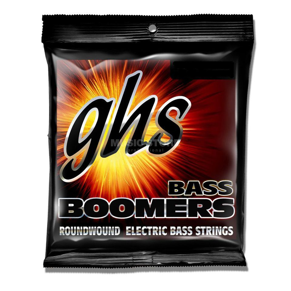 GHS 4er bas Boomers 18-50 Long Scale Plus 18-30-40-50 Productafbeelding