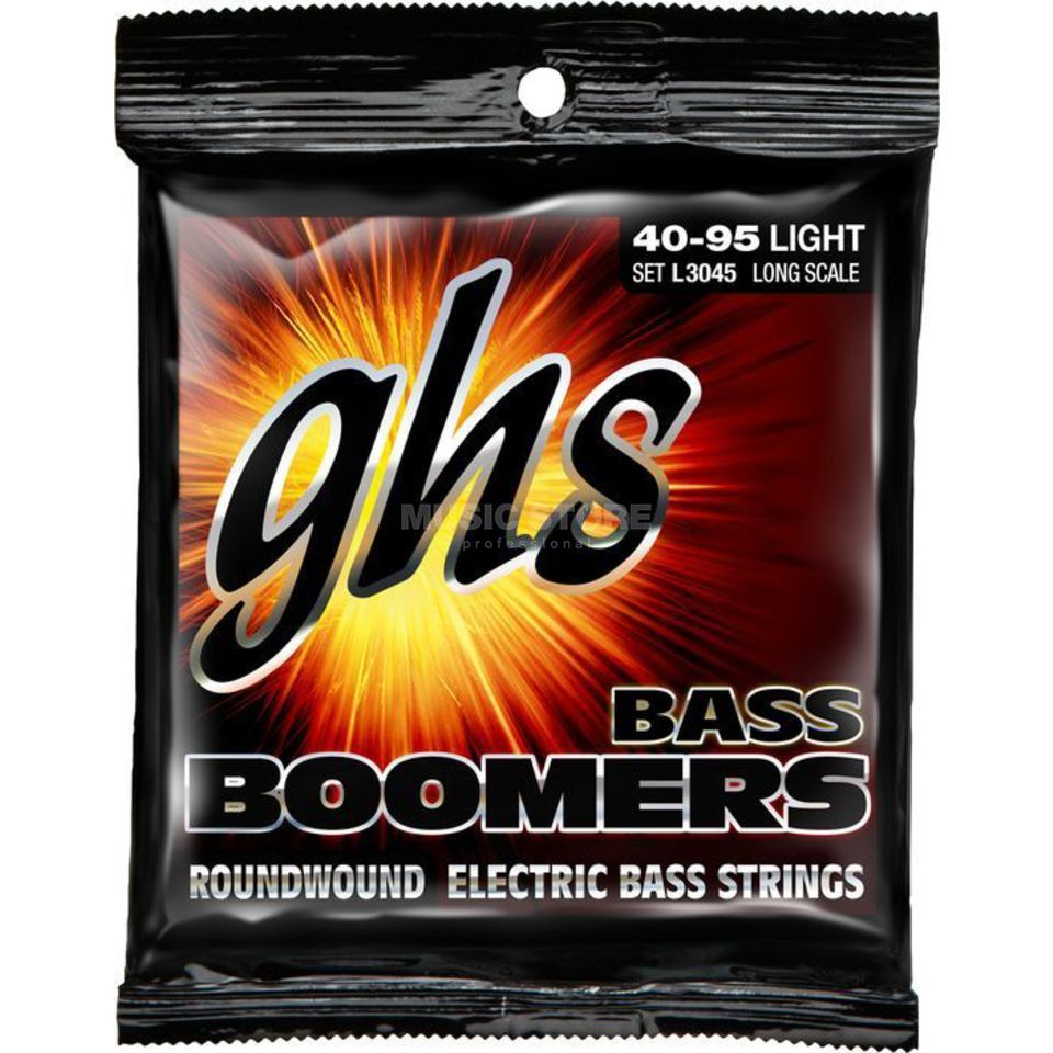 GHS 4er bas Boomers 40-95 Long Scale Plus 40-55-75-95 Productafbeelding