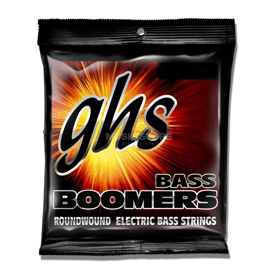 GHS 4er Bass Boomers 30-90 Std. Long Scale 30-50-70-90 Produktbild