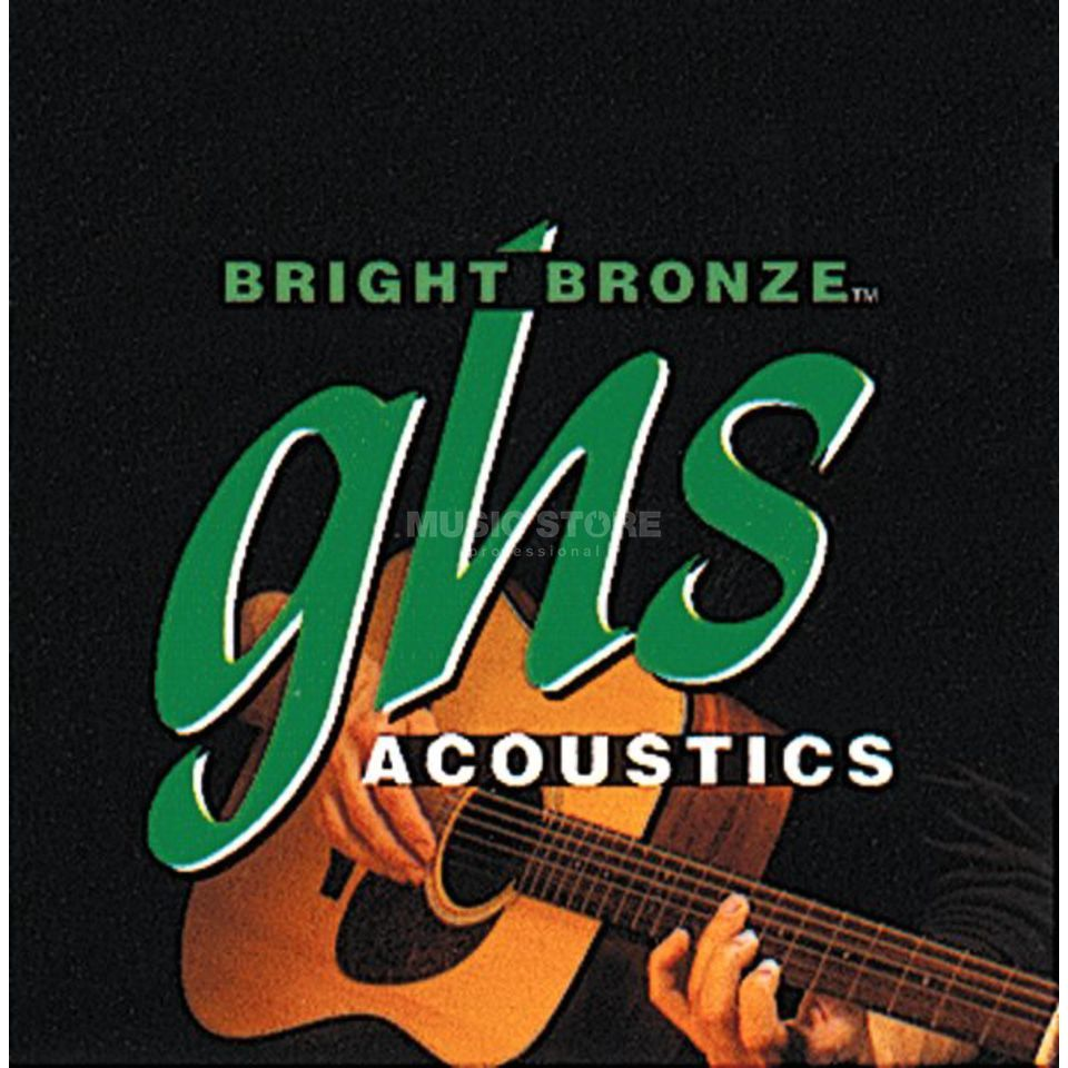 GHS A-Git.Saiten,13-56,Medium 80/20 Bronze Bright Acoustic Produktbillede