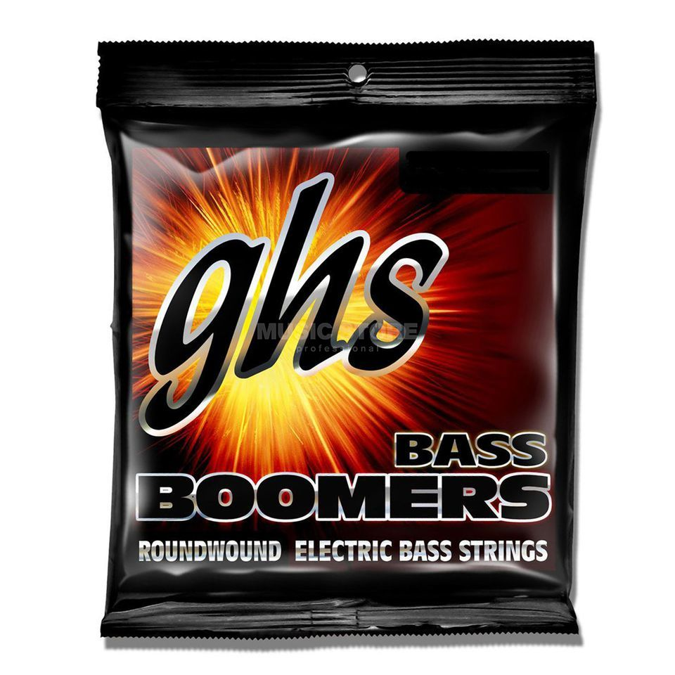 GHS Bass Strings 40-120 Boomers Roundwound Long Scale Product Image