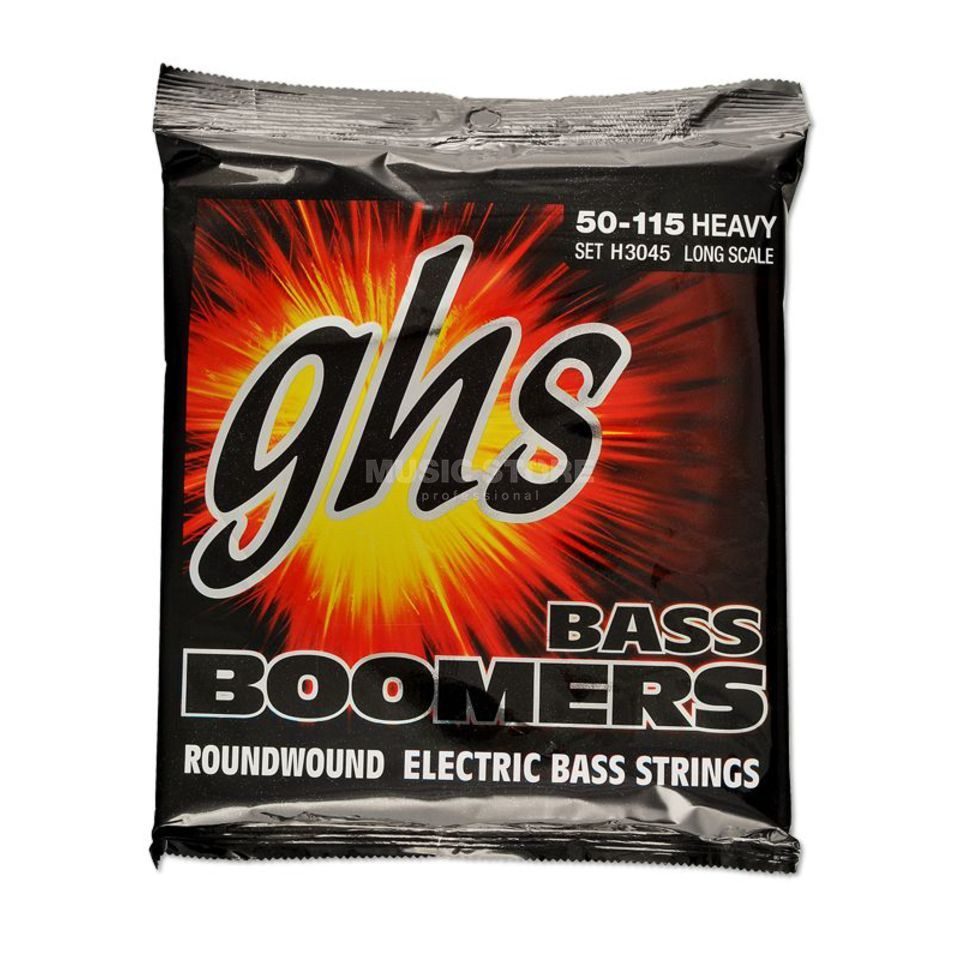 GHS E-Bass,4er,50-115,Boomers Roundwound Long Scale Product Image