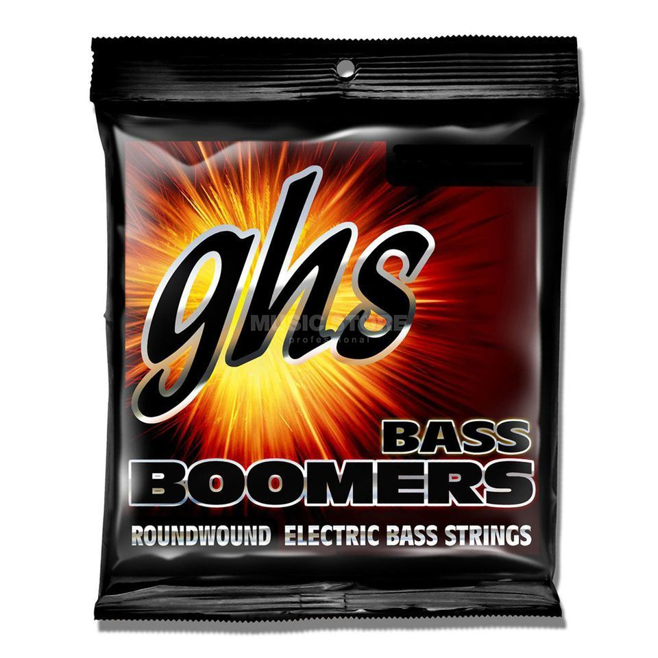 GHS E-Bass,5er,45-130,Boomers Roundwound Long Scale Product Image