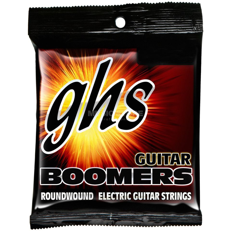 GHS E-Guit.Strings,12-52,Boomers Nickel-plated Roundwound Produktbillede