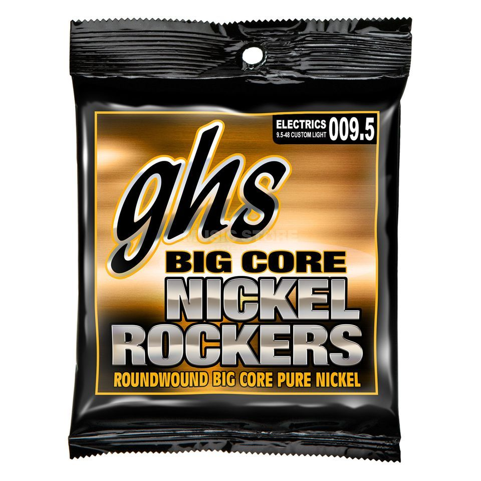 GHS E-Guitar Strings 095-48 Big Core Nickel Rockers Produktbillede