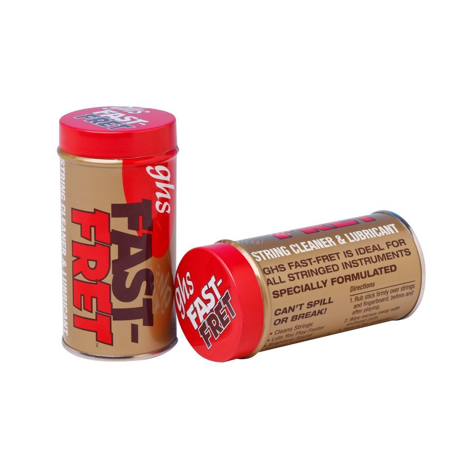 GHS Fast-Fret String Cleaner And Lubricant Product Image
