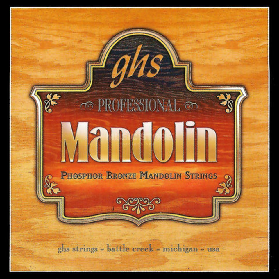 GHS Mandoline - Strings,009 - 032 Phosphor Bronze, Loop End Изображение товара