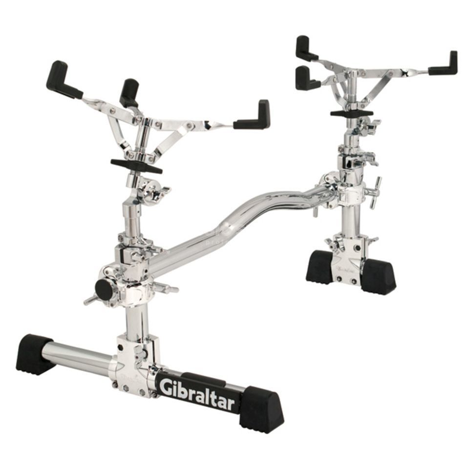 Gibraltar Double Snare Stand GSVMS-DS, Stealth VMS Product Image