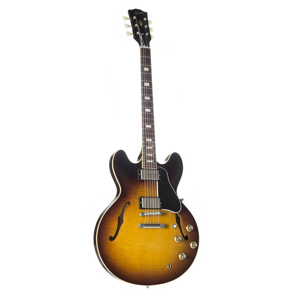 Gibson 1963 ES-335TDN Hand Selected Top & Back Vintage Sunburst #61793 Produktbillede