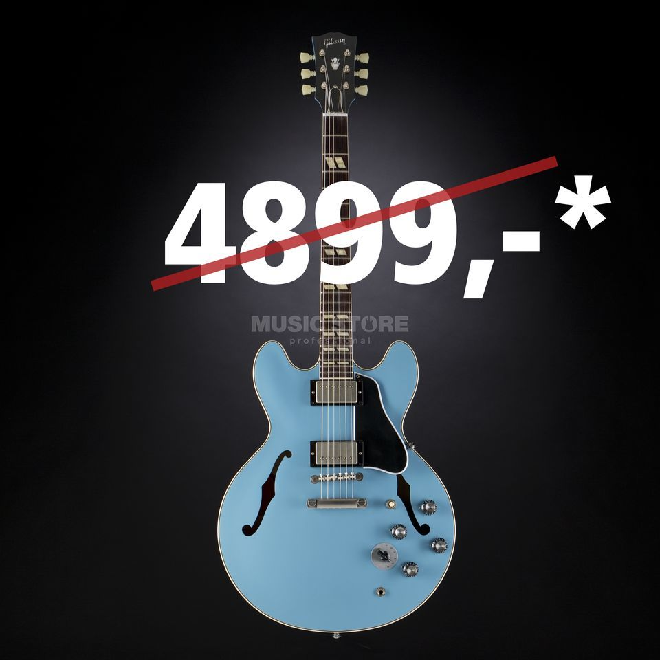 Gibson 1964 ES-345 VOS Frost Blue #60569 Product Image