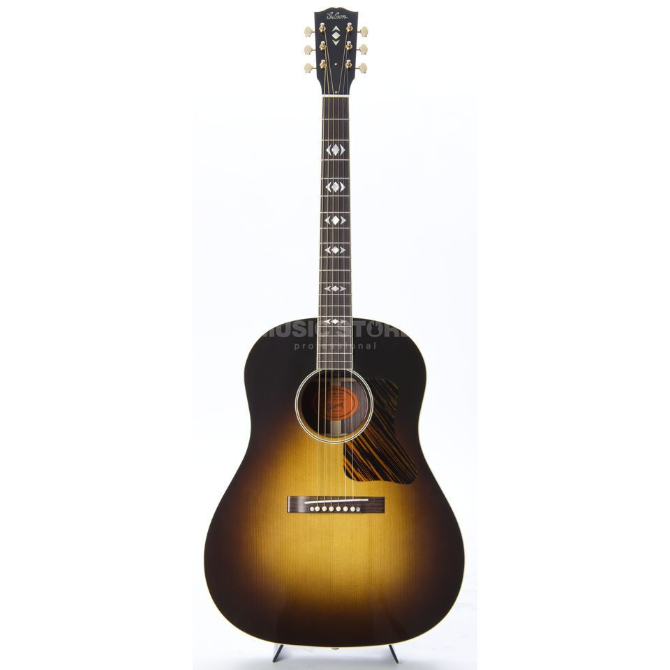 Gibson AJ Adirondack Red Spruce Ltd. Vintage Sunburst, incl. Case Product Image
