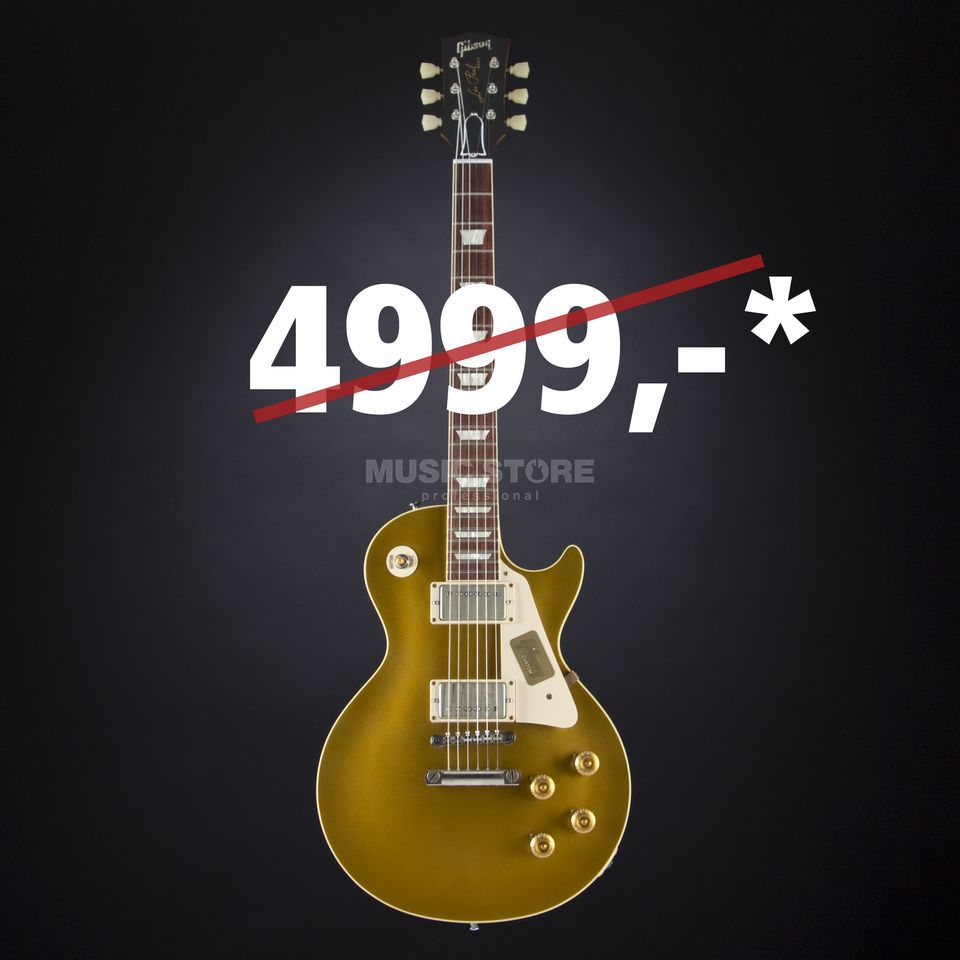 Gibson CS7 Les Paul Standard VAG Vintage Antique Gold #CS750138 Produktbild