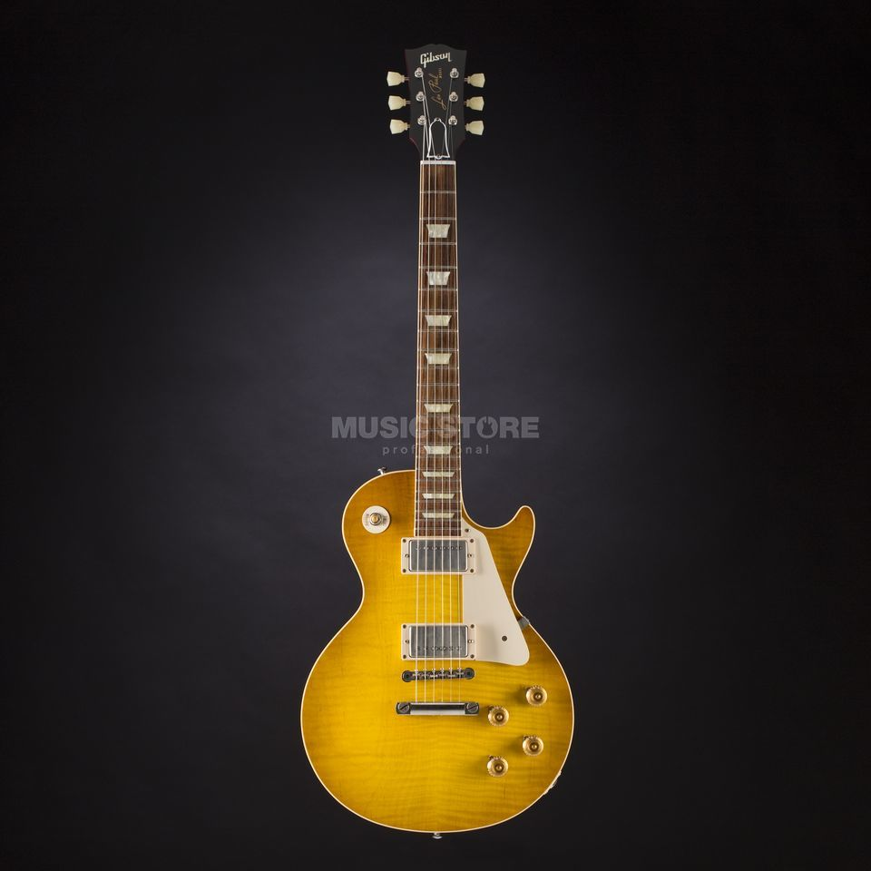 Gibson CS9 '50s Les Paul Standard LB Lemon Burst #CS9 50055 Produktbild