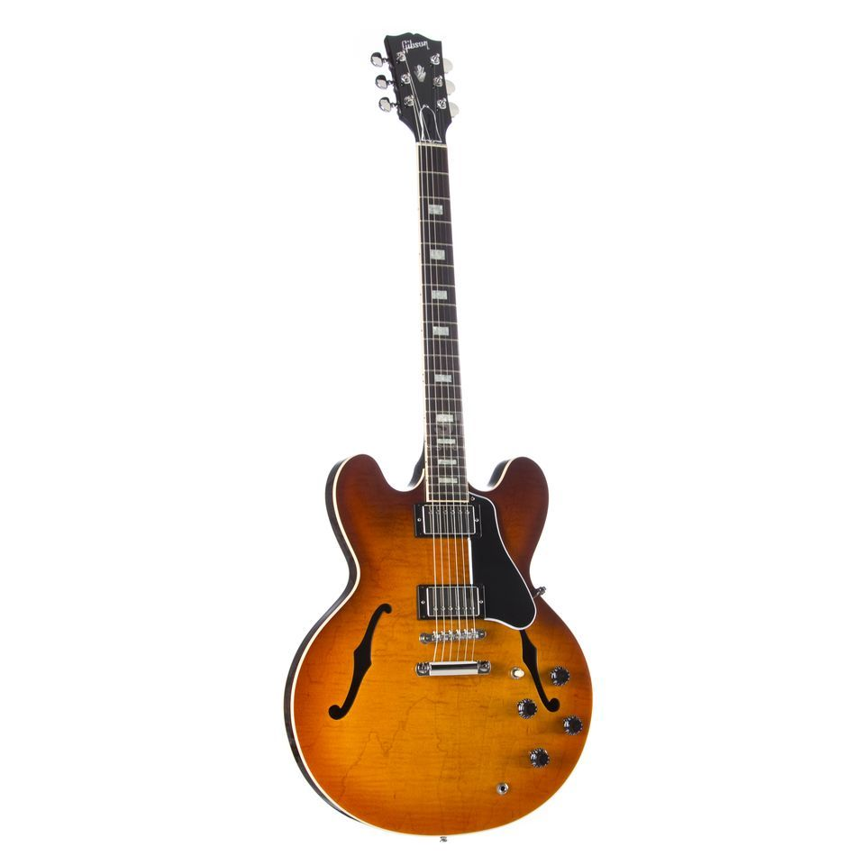 Gibson ES-335 Figured Faded Lightburst #13425709 Zdjęcie produktu