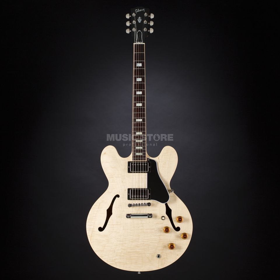 Gibson ES-335 Figured Natural #10286731 Productafbeelding