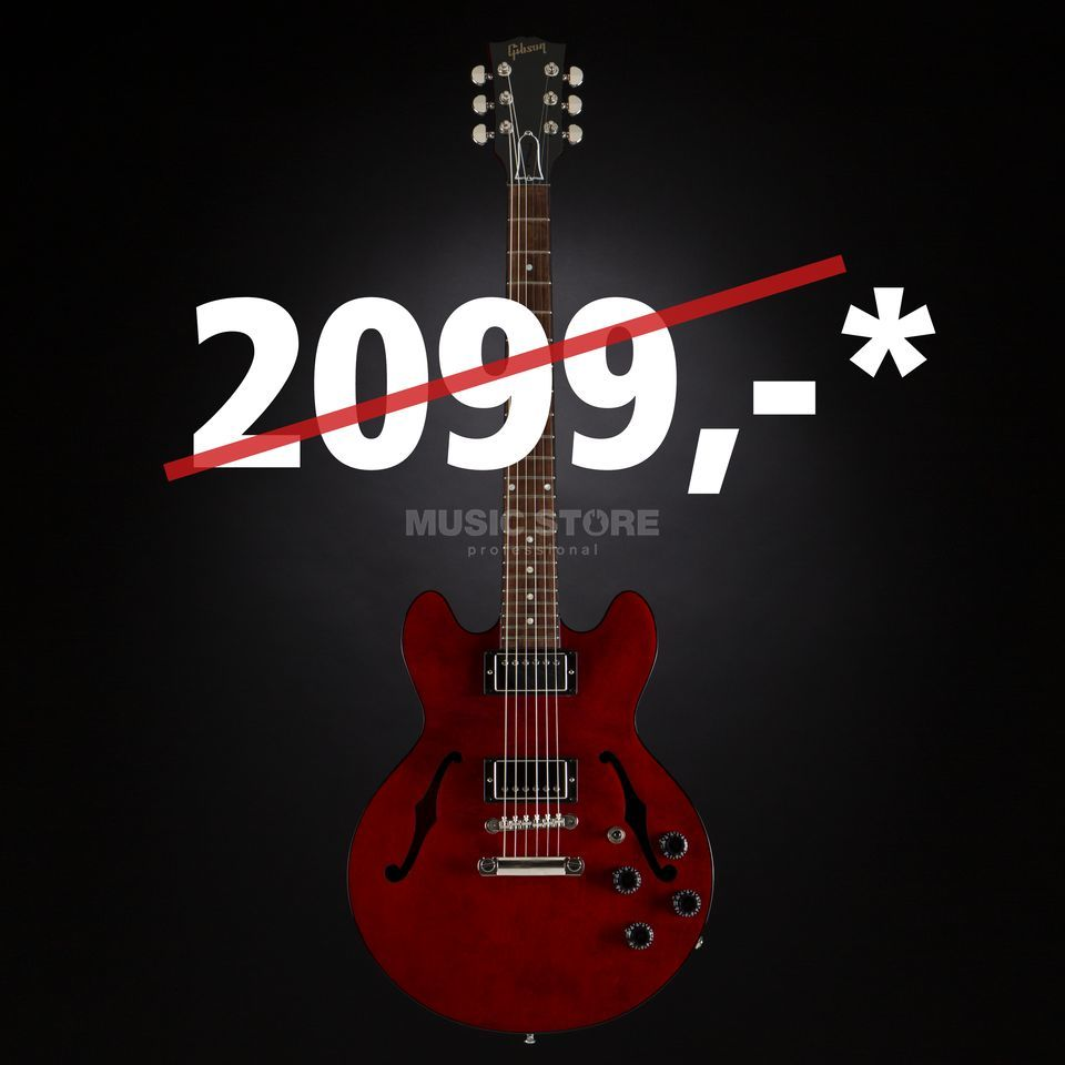 Gibson ES-339 Studio Wine Red #10686751 Product Image