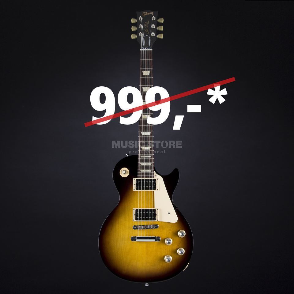 Gibson Les Paul 50s Tribute 2016 T VS Satin Vintage Sunburst Produktbillede
