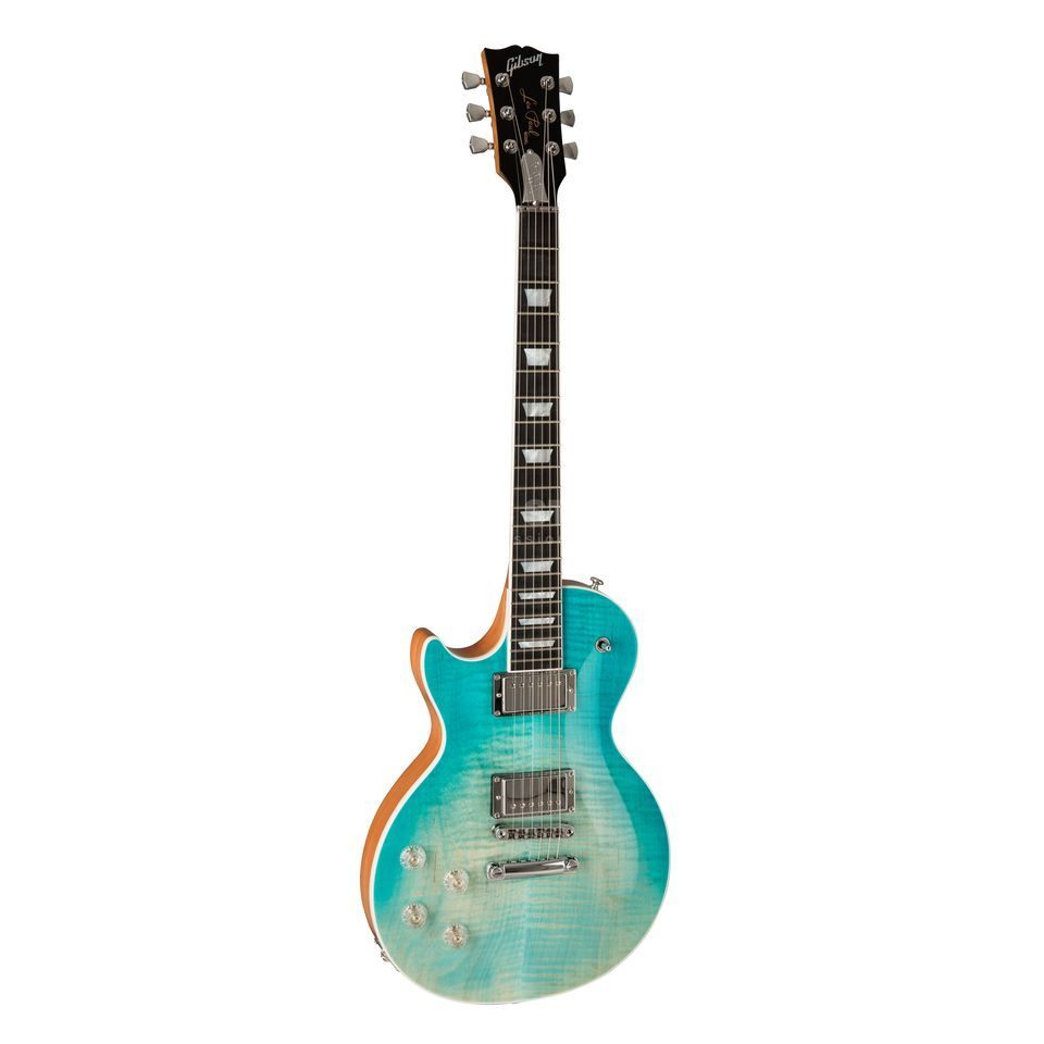 Gibson Les Paul High Performance 2019 Lefthand Seafoam Fade Product Image