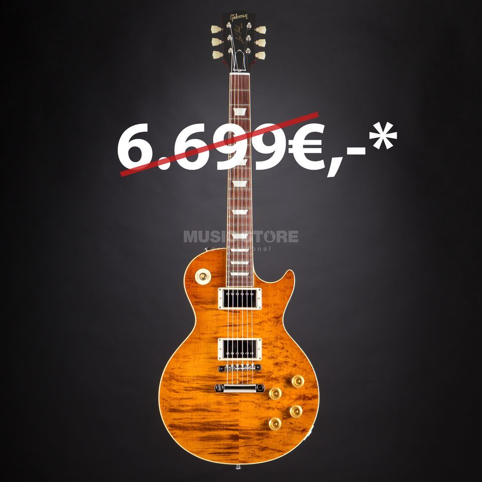 Gibson Les Paul Standard Rock Top Fossilized Flame Limited