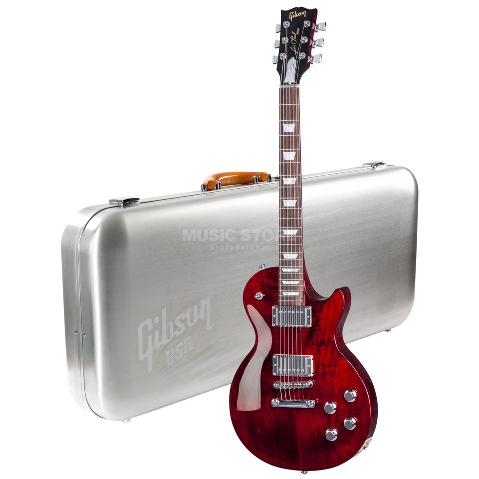 Gibson Les Paul Studio 2017 HP WR Wine Red Product Image