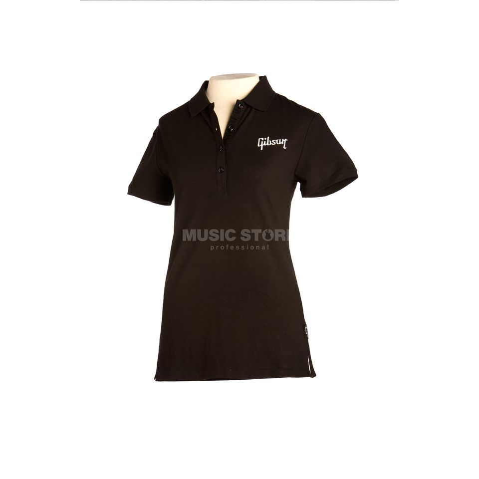 Gibson Logo Women's Polo XL Black Produktbild