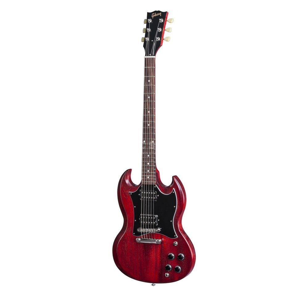 gibson sg faded 2017 t worn cherry. Black Bedroom Furniture Sets. Home Design Ideas