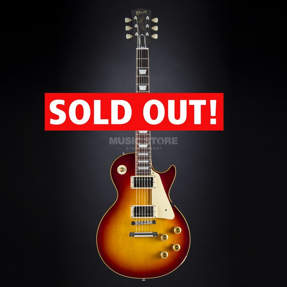 Gibson True Historic 1958 Les Paul Reissue Vintage Cherry Burst #85010 Produktbillede