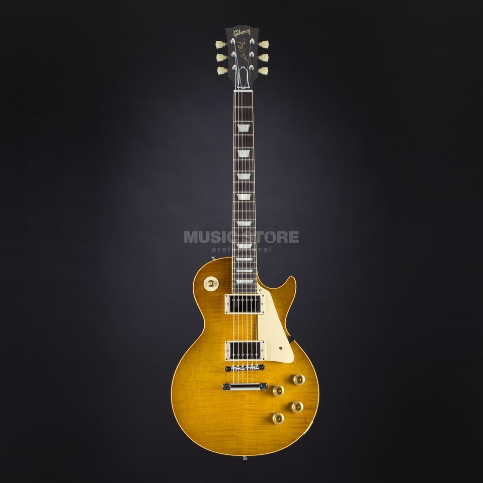 Gibson True Historic 1959 Les Paul Reissue Vintage Lemon Burst #95149 Produktbillede