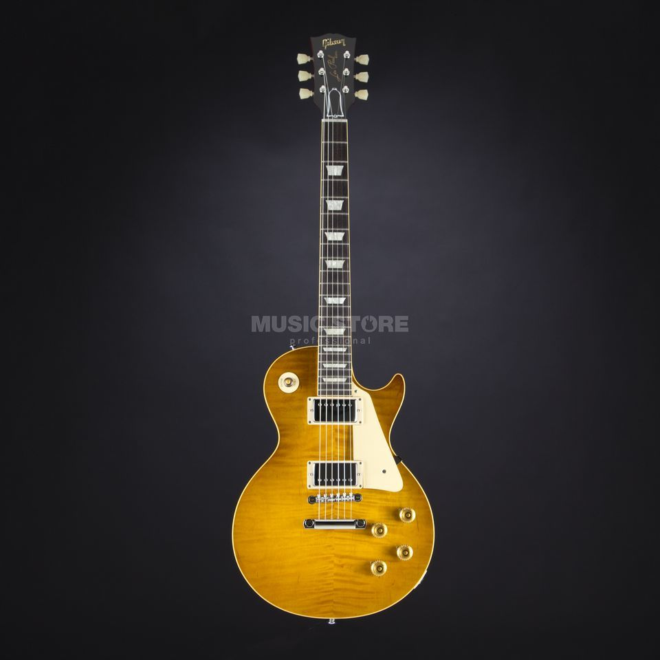 Gibson True Historic 1959 Les Paul Reissue Vintage Lemon Burst #95519 Produktbillede