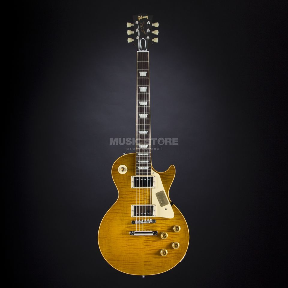 Gibson True Historic 1960 Les Paul Reissue Vintage Lemon Burst #05102 Produktbild