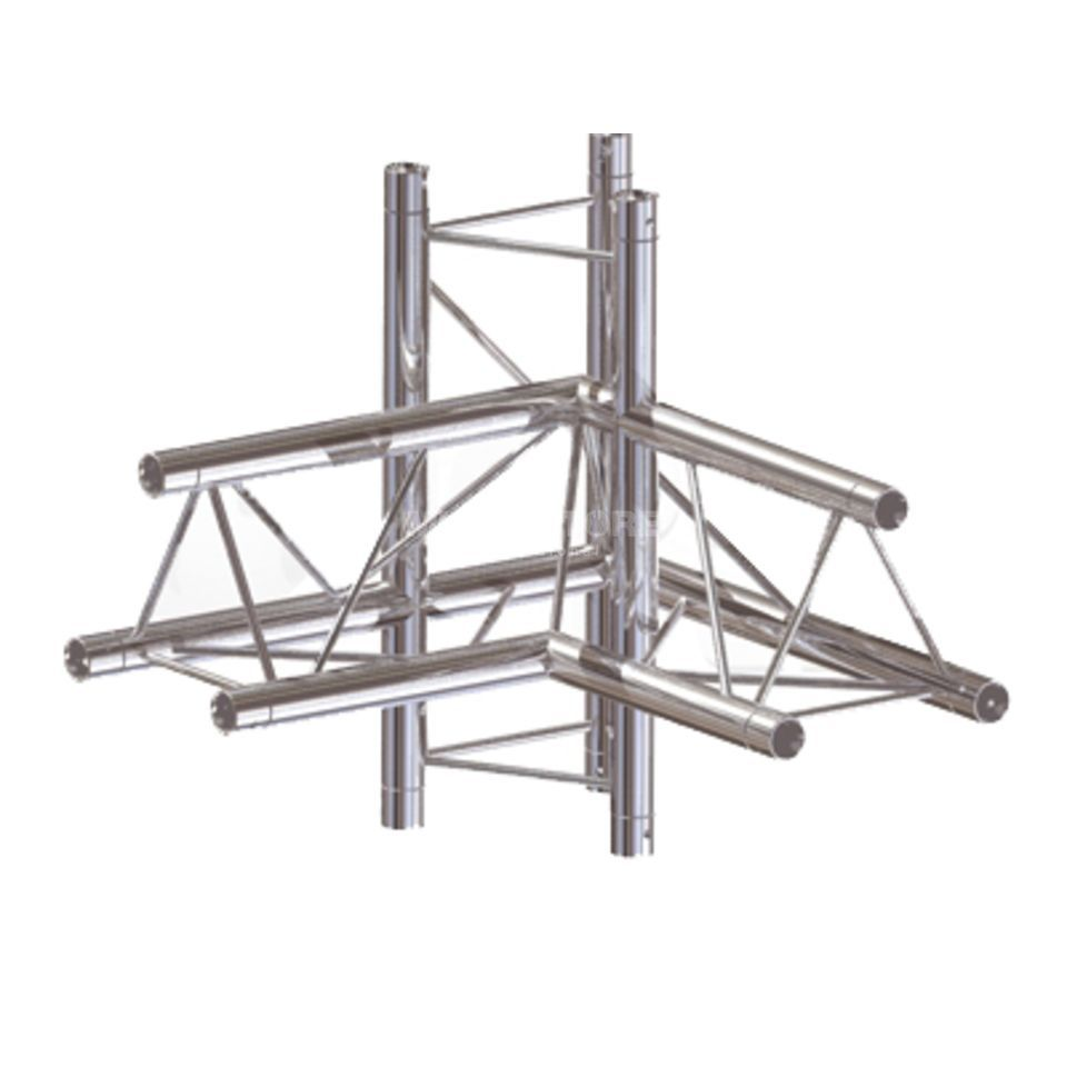 Global Truss F23 4- Way Corner C45  Produktbillede