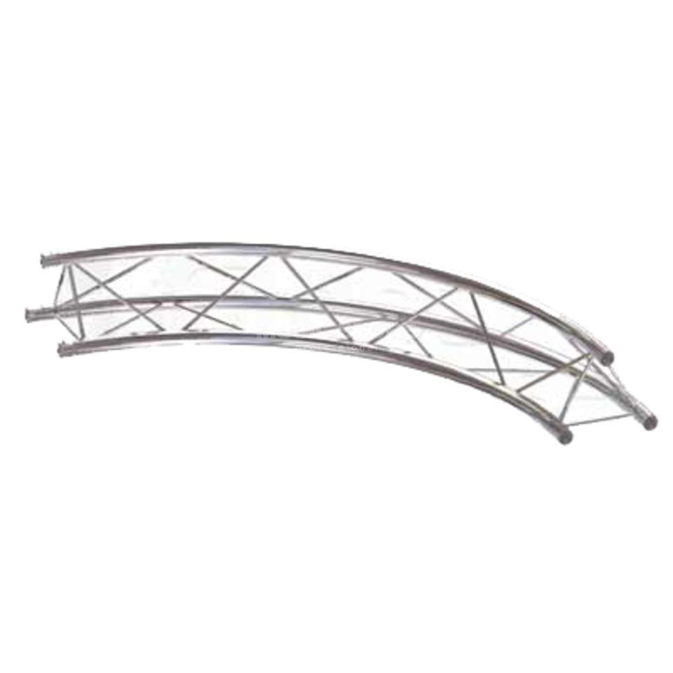 Global Truss F23 Decotruss Circular 180° 1m Produktbillede