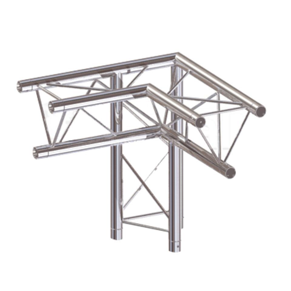 Global Truss F23C34 3-Weg 90€ Ecke  Produktbillede