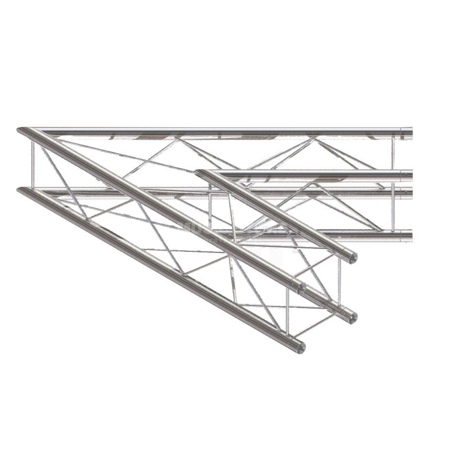 Global Truss F24, 2-Way Corner, C19, 45°  Produktbillede