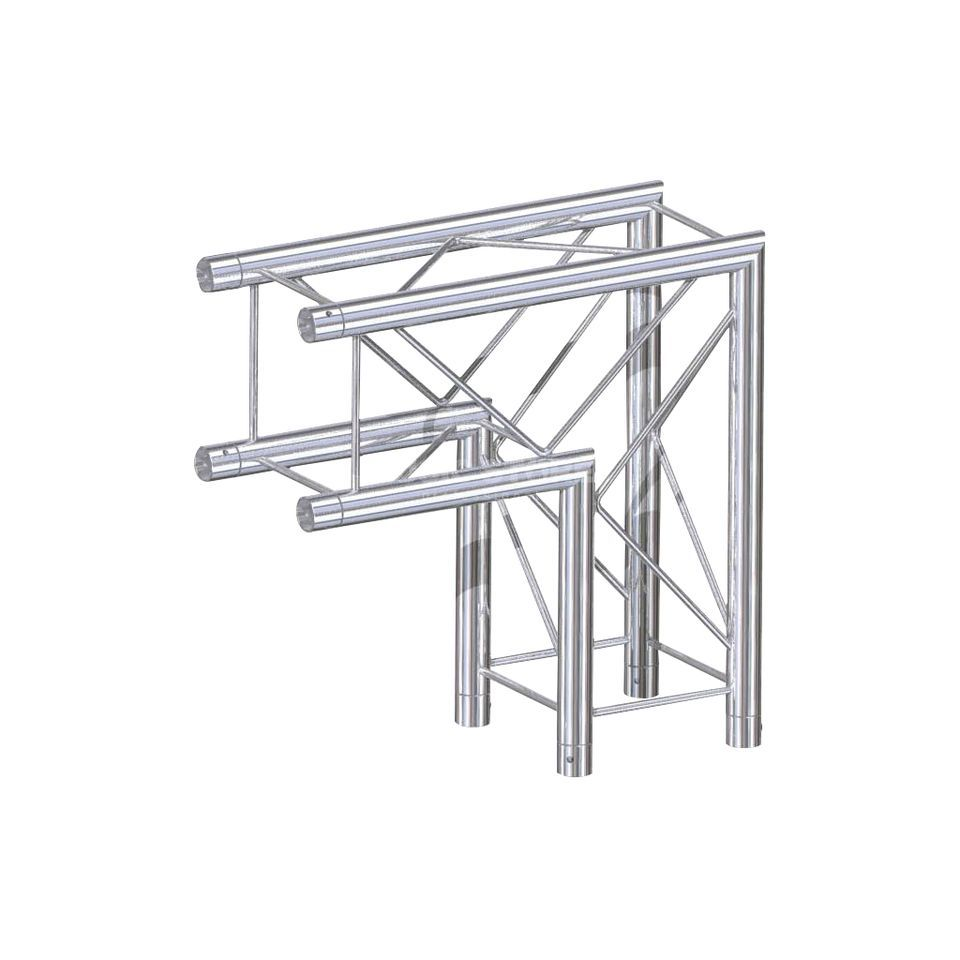 Global Truss F24, 2-Way Corner, C21, 90°  Produktbillede